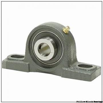 2.438 Inch | 61.925 Millimeter x 4 Inch | 101.6 Millimeter x 2.75 Inch | 69.85 Millimeter  DODGE P2B-E-207R  Pillow Block Bearings