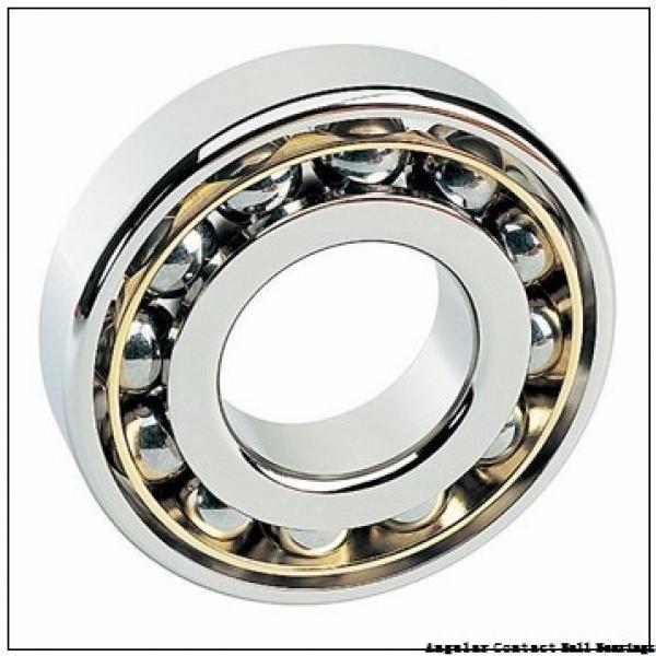 4.724 Inch   120 Millimeter x 7.48 Inch   190 Millimeter x 1.26 Inch   32 Millimeter  SKF 124R-BKE  Angular Contact Ball Bearings #2 image