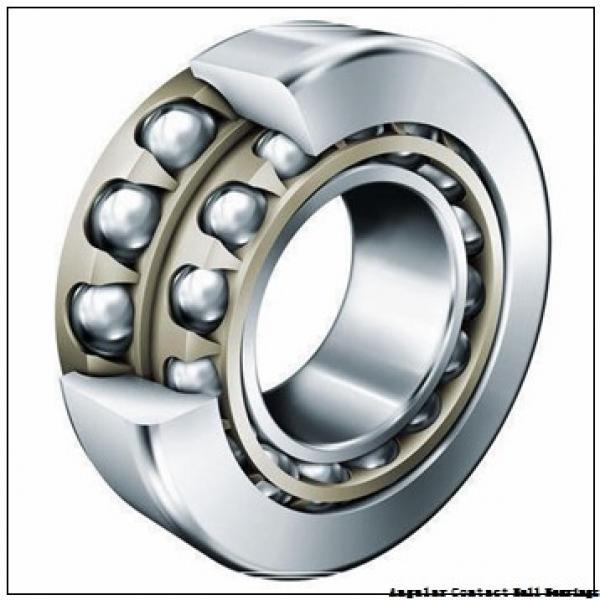 4.724 Inch   120 Millimeter x 7.48 Inch   190 Millimeter x 1.26 Inch   32 Millimeter  SKF 124R-BKE  Angular Contact Ball Bearings #1 image