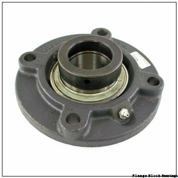 AMI UCF206  Flange Block Bearings #1 image